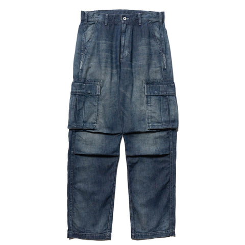 NEIGHBORHOOD Washed . Cargo / C-PT Indigo, Bottoms