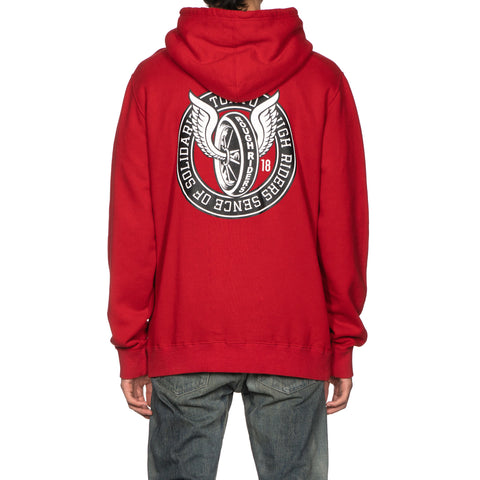 NEIGHBORHOOD x RATS T.R.R. / C-Hooded LS Red, Sweaters