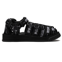 NEIGHBORHOOD x Shaka NHSK . Hiker / PE-Sandal Black, Footwear