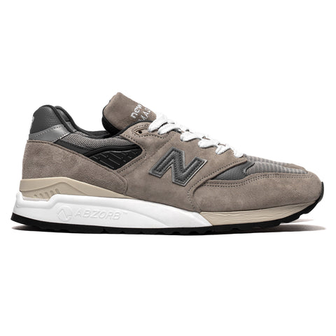 New Balance M998BLA Gray, Footwear