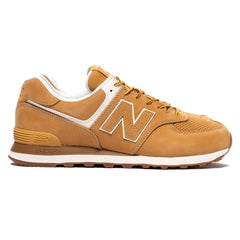 Junya Watanabe MAN x New Balance Steer Smooth 574 Beige, Footwear