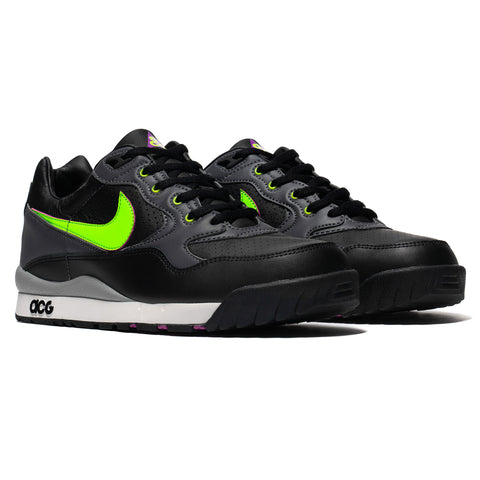 new style f1c2a 47ce0 coupon black nike air max tailwind 5 mens grey silver white 09042 d3813;  sweden footwear nike acg air wildwood black electric green footwear b95ca  78fe5