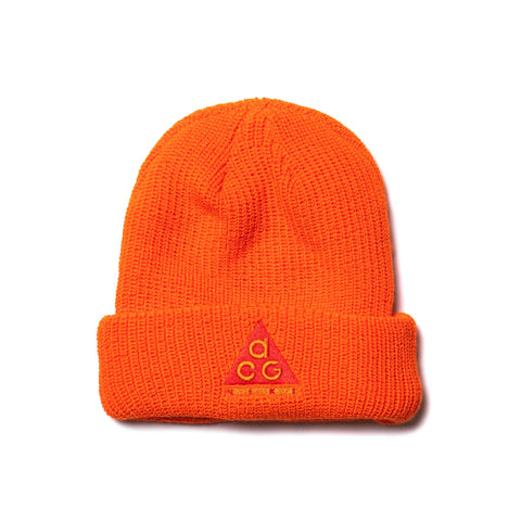 54bb381e Nike ACG Beanie Safety Orange/Habanero Red, ...