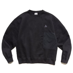 Nike ACG Fleece Crew Sweatshirt Black, Sweaters