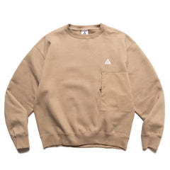 Nike ACG Fleece Crew Sweatshirt Khaki, Sweaters