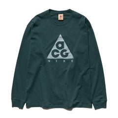 ACG Long Sleeve Logo Tee Deep Jungle/Aviator Gray