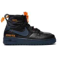 Nike Air Force 1 Winter Gore-Tex Black/Thunder Blue, Footwear