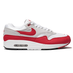 Nike Air Max 1 Anniversary White/University Red, Footwear