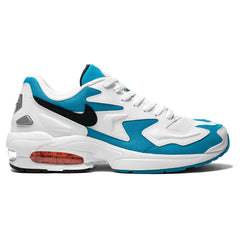 Nike Air Max 2 Light White/Black/Blue Lagoon, Footwear