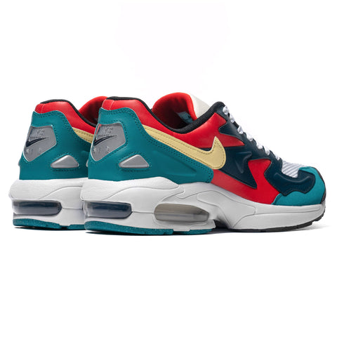 Nike Air Max2 Light Habanero Red/Armory Navy, Footwear