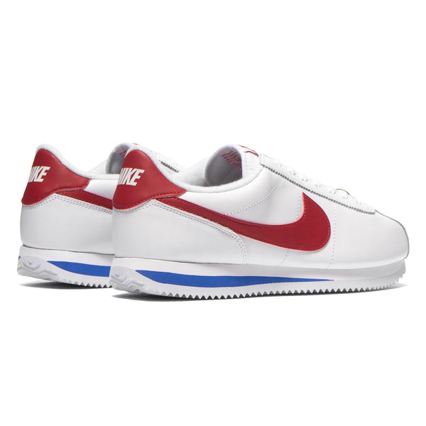 low priced f8881 018a6 Cortez Basic Leather OG White/Varsity Red