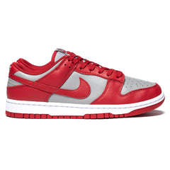 Nike Dunk Low Retro Medium Gray / Varsity Red, Footwear