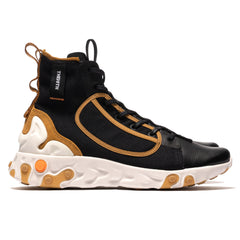Nike React Langa Black/White/Wheat, Footwear