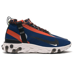 Nike React Runner Mid WR ISPA Blue Void/Black/Orange, Footwear
