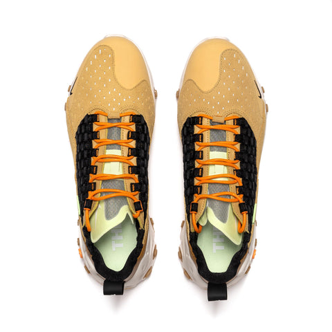 Nike React Sertu Club Gold/Black/Wheat, Footwear