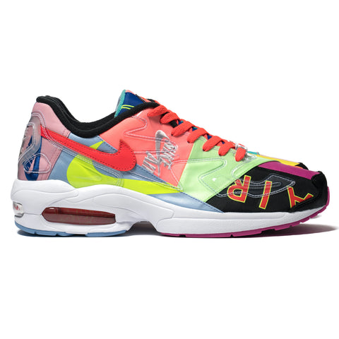 Nike x Atmos Air Max2 Light QS Black/Bright Crimson, Footwear