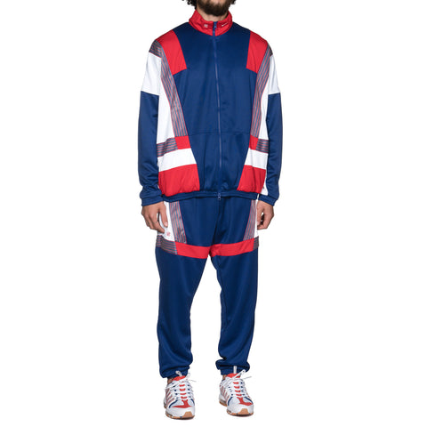 Nike x CLOT Tracksuit Deep Royal Blue/University Red/White, Jackets