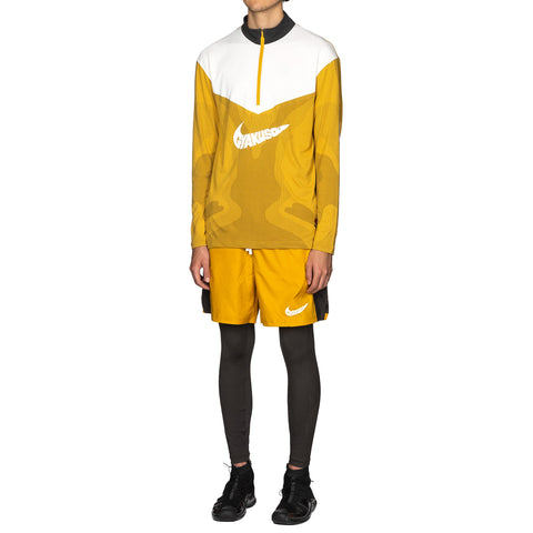 Nike x Gyakusou 1/2-Zip Long Sleeve Top Mineral Yellow/Deep Pewter, Tops