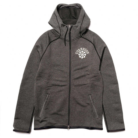 Nike x Gyakusou Knit Hoodie Black Heather/Sail, Sweaters