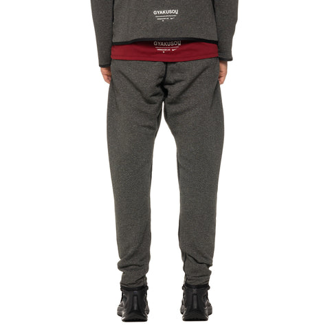 Nike x Gyakusou Knit Pants Black Heather/Sail, Bottoms