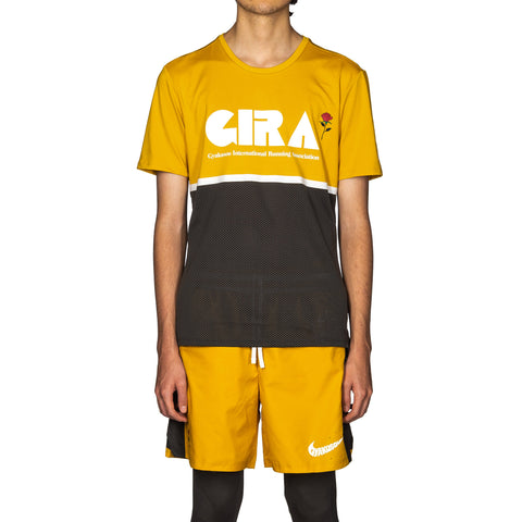Nike x Gyakusou Top Mineral Yellow/Deep Pewter, T-Shirts