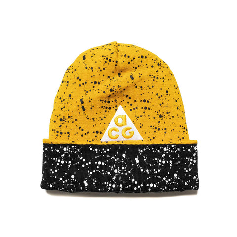 NikeLab ACG Beanie Black/Yellow/White, Headwear