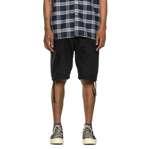 nonnative Educator 6P Shorts Relaxed Fit Cotton Ripstop Black, Bottoms