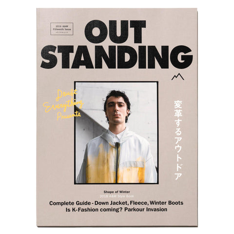 OUTSTANDING Magazine 2018AW -Shape of Winter-, Publications