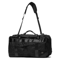PORTER Booth Pack 3 Way Duffle Bag (L) Black, Bags