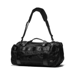 PORTER Booth Pack 3 Way Duffle Bag (M) Black, Bags