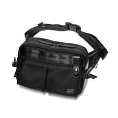 PORTER Heat Waist Bag Black, Bags