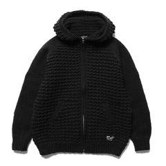 HAVEN Pacific Parka - Hand Knit Wool Black, Knits