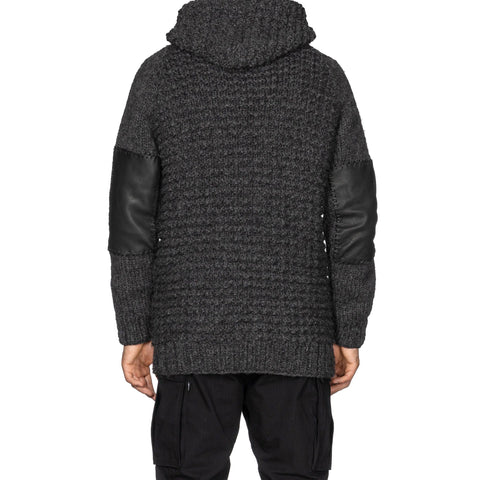 HAVEN Pacific Parka - Hand Knit Wool Charcoal, Knits