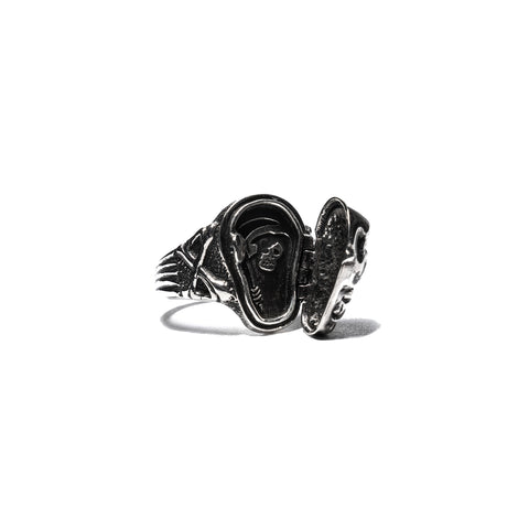 Peanuts and Co. Skull Poison Ring White Zirconia, Accessories