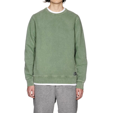 HAVEN Pigment Dyed Heavyweight Crewneck Sweater - Cotton Fleece Sage, Sweaters