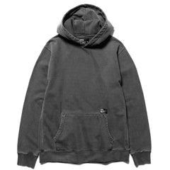 HAVEN Pigment Dyed Heavyweight Pullover Hoodie - Cotton Fleece Charcoal, Sweaters