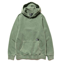 HAVEN Pigment Dyed Heavyweight Pullover Hoodie - Cotton Fleece Sage, Sweaters