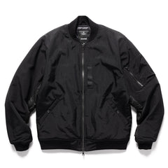 HAVEN Pilot Jacket  - PrimaLoft® Nylon Grosgrain Black, Outerwear