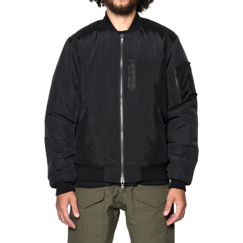 HAVEN Pilot Jacket  - PrimaLoft® Nylon Grosgrain Ox Black, Outerwear