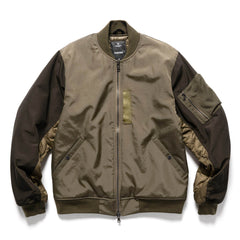HAVEN Pilot Jacket  - PrimaLoft® Nylon Grosgrain Olive, Outerwear