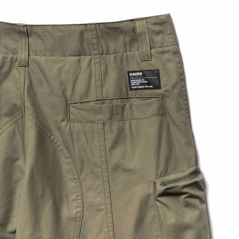 HAVEN Pilot Utility Pants - Cotton Rudeback Olive, Bottoms
