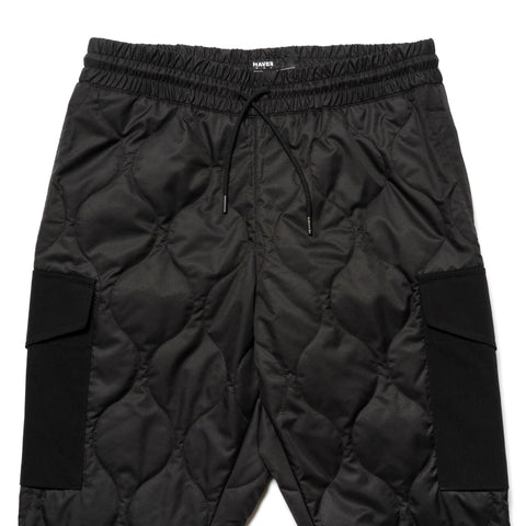 HAVEN Polar Pant - Primaloft® Nylon Ripstop Black, Bottoms