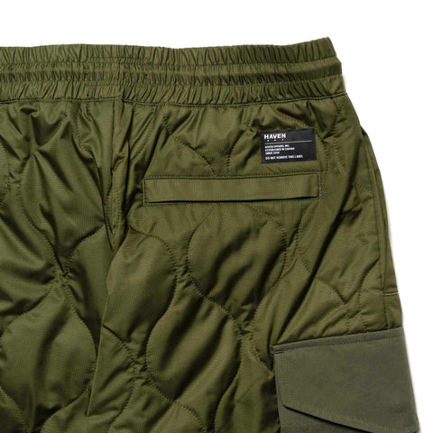 HAVEN Polar Pant - Primaloft® Nylon Ripstop Olive, Bottoms