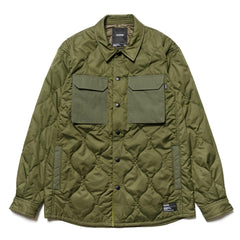 HAVEN Polar Over Shirt - Primaloft® Nylon Ripstop Olive, Shirts