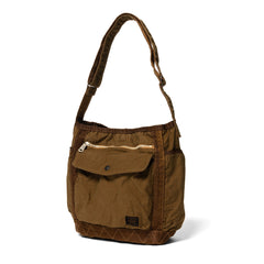 PORTER Crag Shoulder Bag (L) Coyote, Accessories