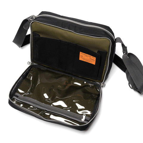 PORTER Flying Ace Shoulder Bag Black, Accessories