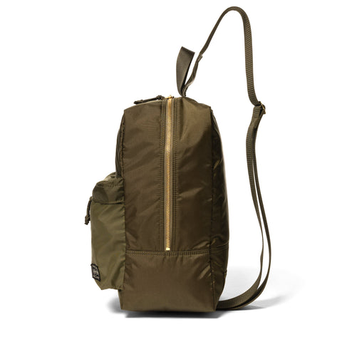 PORTER Force Sling Shoulder Bag Olive Drab, Accessories