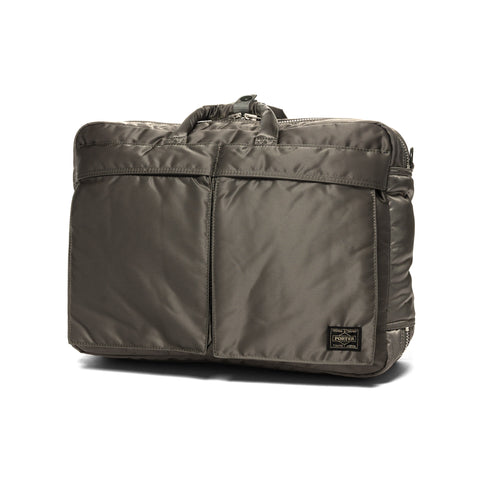 PORTER Tanker 3Way Brief Case Silver Gray, Accessories