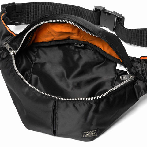 PORTER Tanker Waist Bag (L) Black, Accessories