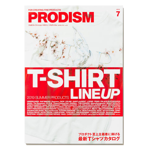 PRODISM Magazine No.23 July 2019 -T-Shirt Lineup-, Publications